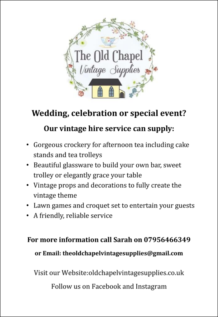 The Old Chapel Vintage Supplies